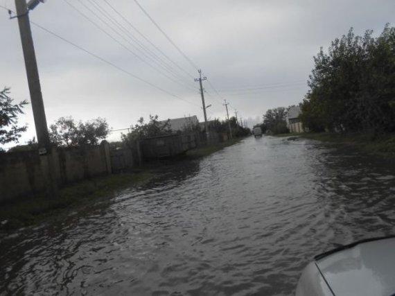 Без паники на Титанике! Цюрупинск после дождя (ФОТО)