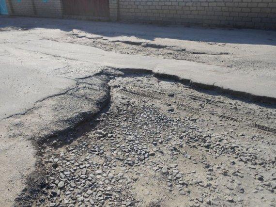 Улица Полевая – зона стихийного бедствия