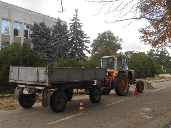 """Первые """"покращення"""" в Цюрупинске с приходом Котенкова в районную администрацию."""