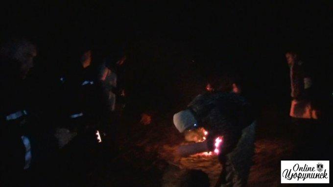 В Цюрупинском лесу нашли 5 заблудившихся отдыхающих (фото/відео)