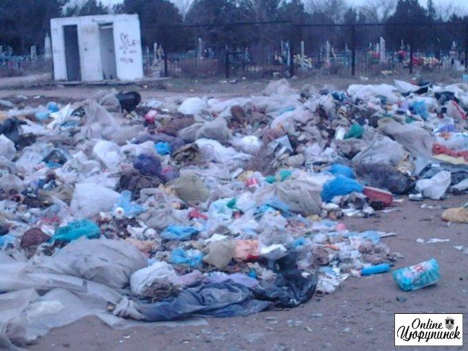 Отношение к живым и умершим в Цюрупинске!