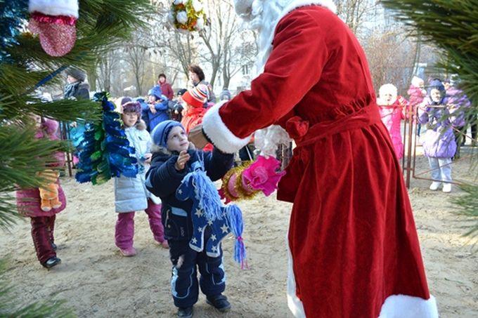 Цюрупинск приглашает на открытие городской ёлки