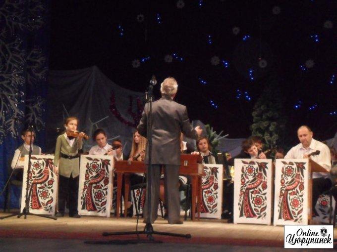 Звітний концерт в Цюрупинську (відео)