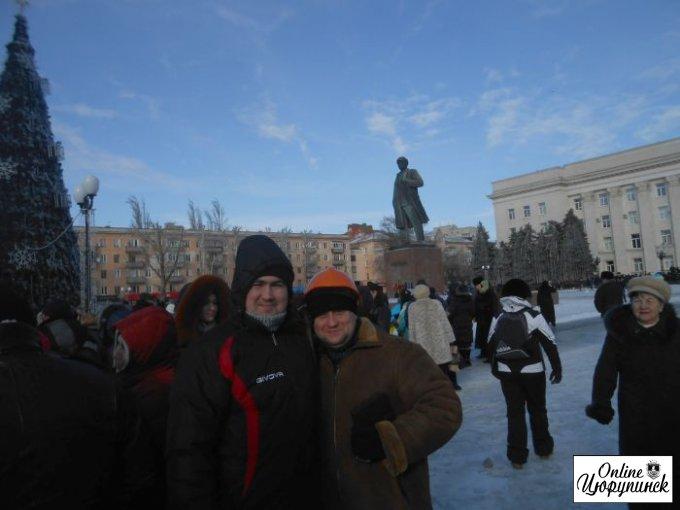 Цюрупинчане на Херсонском Евромайдане (фото)