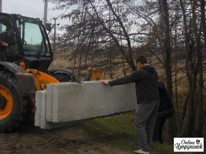 Новый блок-пост самообороны в Цюрупинске на крымской трассе