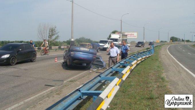 ДТП на Антоновском мосту (фото)