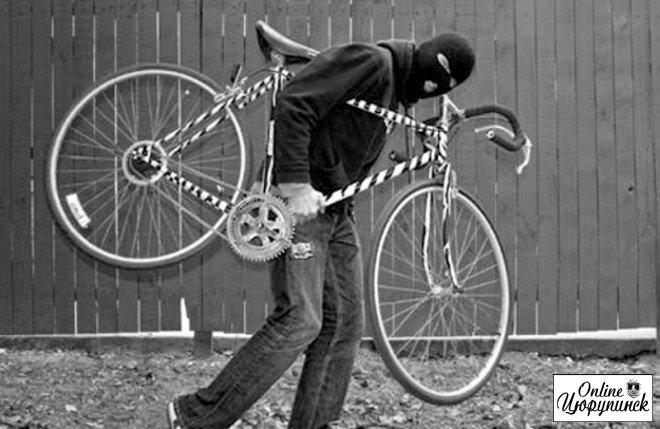 Кража столетия - украл велосипед и 300 гривен