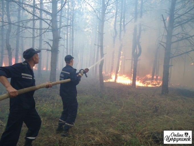 В Цюрупинському районі посиленно контроль за станом пожежної безпеки