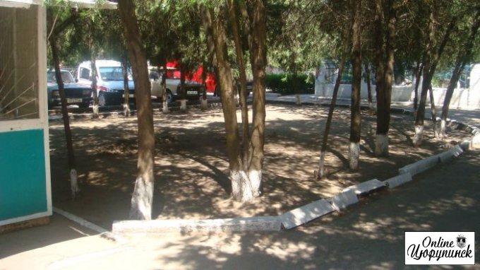 Продолжение дизайнерской битвы в цюрупинской больнице (фото)
