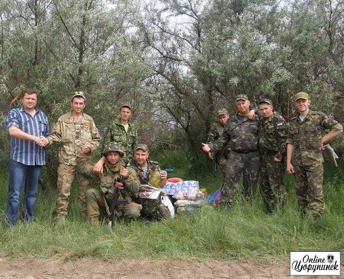 Состоится встреча цюрупичан с бойцами 79-й бригады из зоны АТО