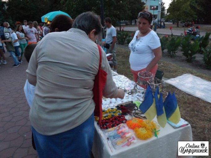 День независимости в Цюрупинске (фото)