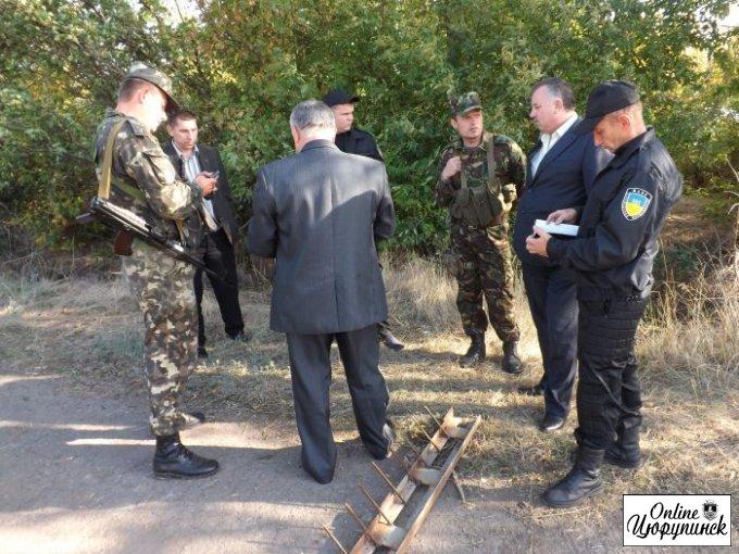 Теплые вещи для солдат базирующихся в Цюрупинском районе (фото)