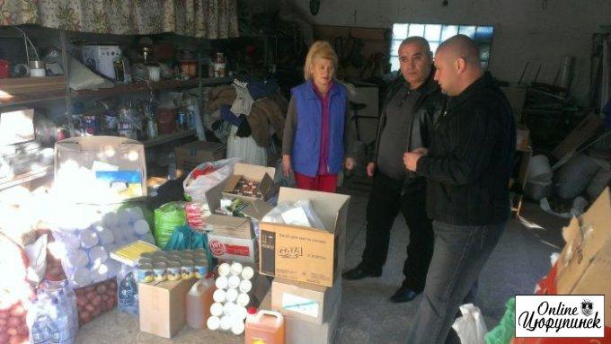 Илья Харуца поддержал и поблагодарил цюрупинских волонтеров