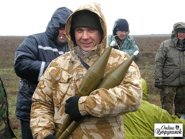 Состоялись очередные стрельбы из РПГ-7 для цюрупинских добровольцев (фото)