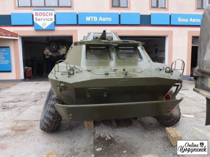 Помогите с ремонтом военной техники для АТО (фото)