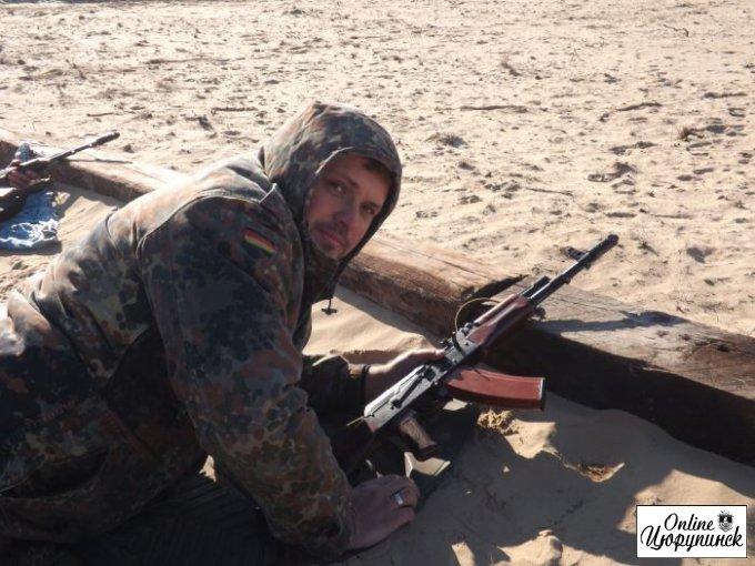В Цюрупинске снова стреляли (фото)