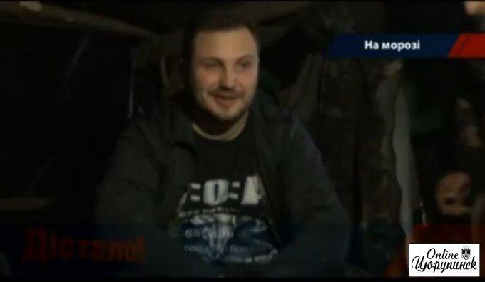 Цюрупинчанин на фронте показал журналистам реальную ситуацию с обеспечением (видео)