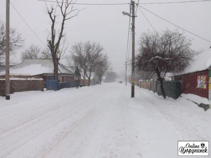 Цюрупинск к зиме готов? (фото)