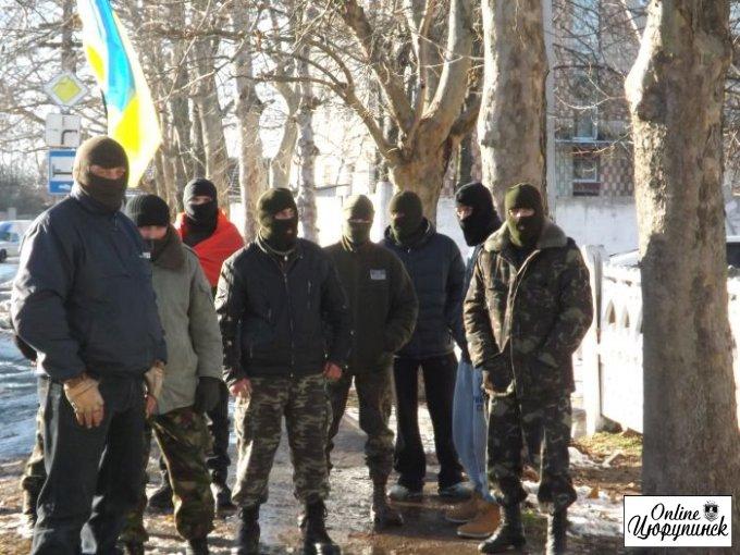 Российское ОРТ оперативно отреагировало на события в Цюрупинске