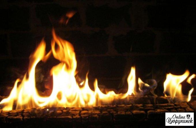Цюрупинські рятувальники виявили на пожежі тіло 62-річного охоронця