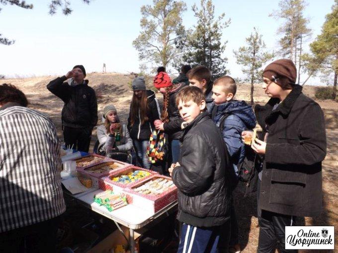 Цюрупинчане и херсонцы сегодня отлично потрудились (фото)