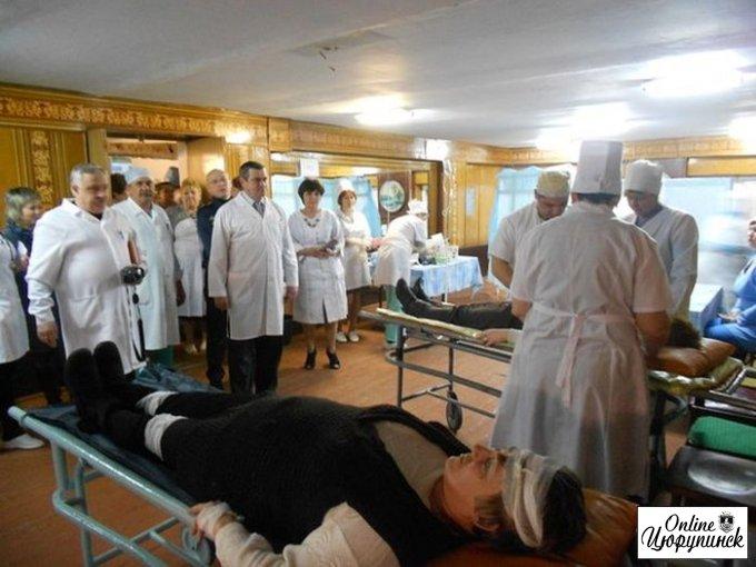 Навчання в Цюрупинський районній лікарні (фото)