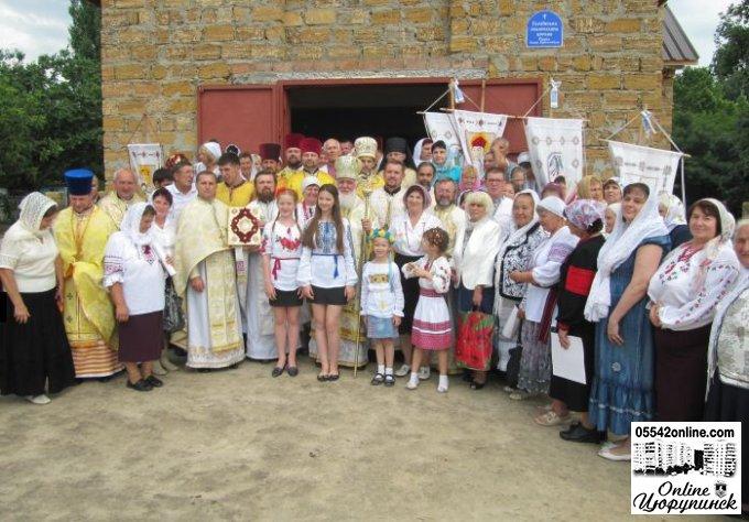 Відродження духовності Цюрупинського краю (фото)