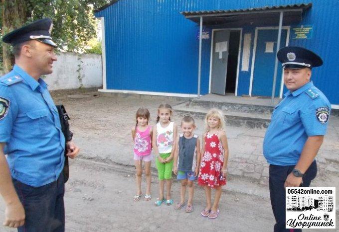 В Цюрупинську було проведено чергування за рахунок особистого часу керівництва РВ УМВС (фото)