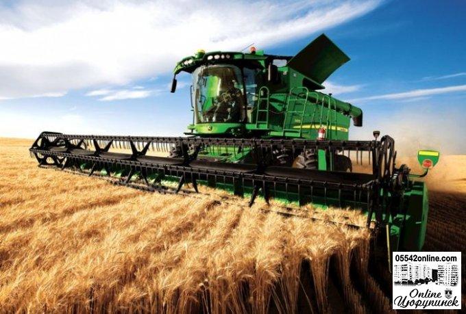 В Цюрупинському районі завершено  збір ранніх зернових та зернобобових культур