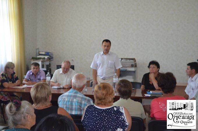 Голова Цюрупинської РДА з робочим візитом відвідав Великокопанівську сільську раду