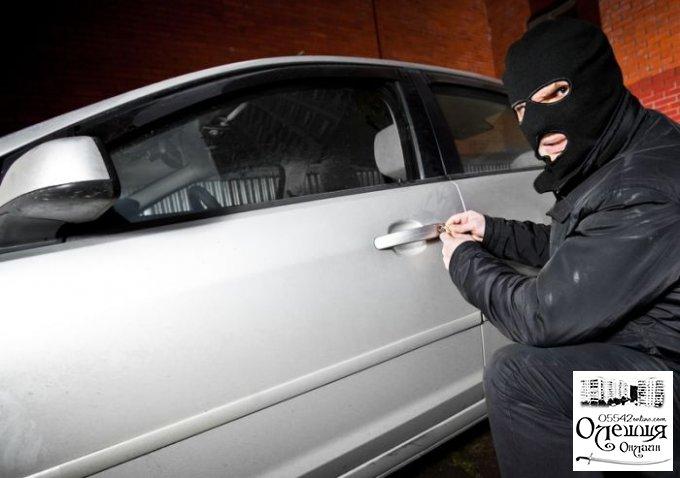 Житель Цюрупинского района украл машину в Херсоне