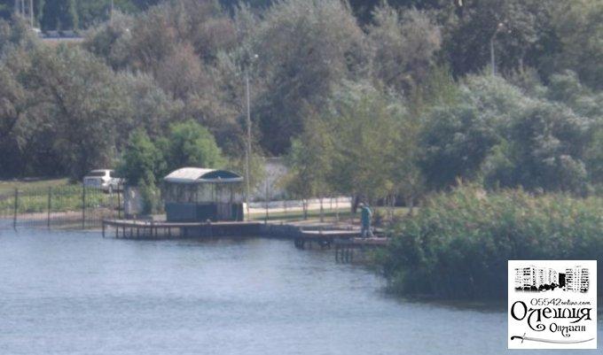 Самозахват берегов Конки Алексеем Журавко в Цюрупинске (документ)