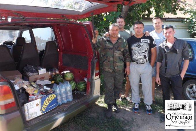 Военные из Цюрупинска с пустыми руками не уехали