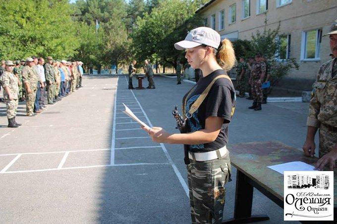 В Цюрупинске успешно завершились очередные военно-полевые сборы