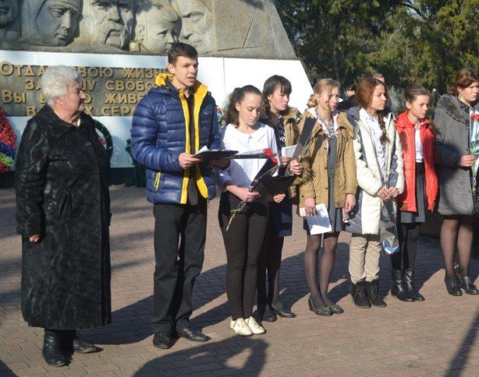 Цюрупинск отметил 72-ю годовщину освобождения