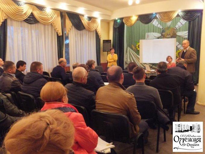 В Цюрупинске состоялся тренинг по местному самоуправлению
