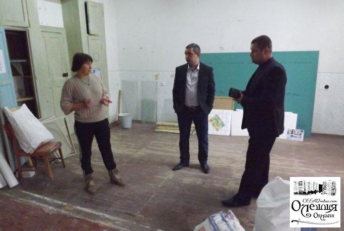 В Цюрупинске дети которым отремонтировали класс для занятий, приглашают к себе в гости