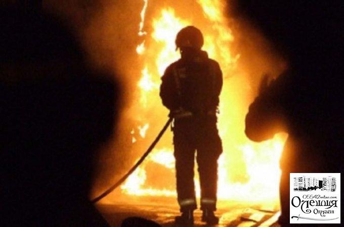 Цюрупинські пожежні ліквідували загоряння у підвалі
