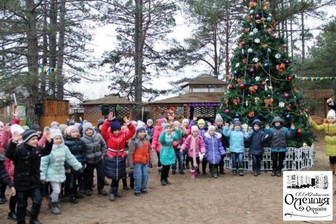 Резиденция Деда Мороза в Цюрупинском лесу (ВИДЕО)