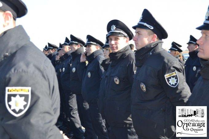 """Цюрупинские """"копы"""" приняли присягу (фото)"""
