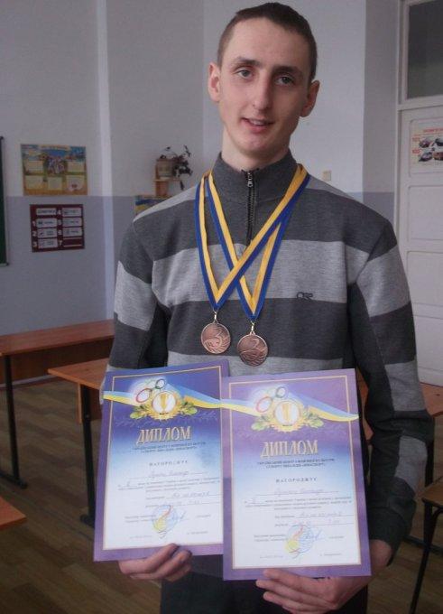 Вітаємо Пулінця Олександра з перемогою у чемпіонаті України