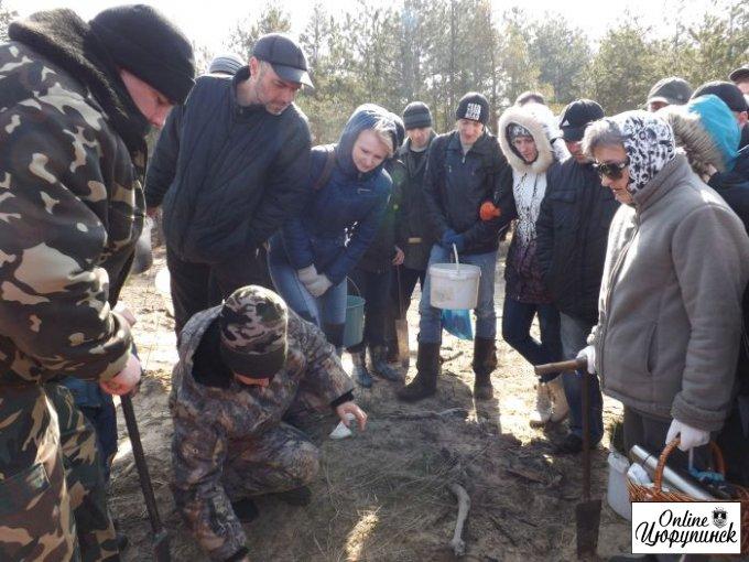 Цюрупинчане в очередной раз приглашают людей выйти на совместную высадку леса