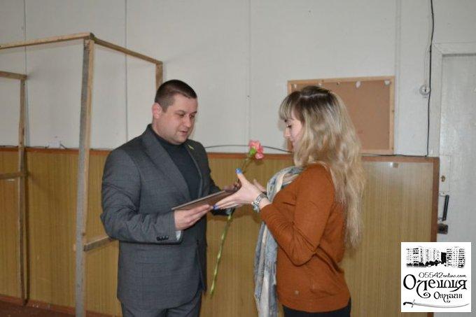 У Цюрупинську працівників сфери ЖКГ привітали з професійним святом