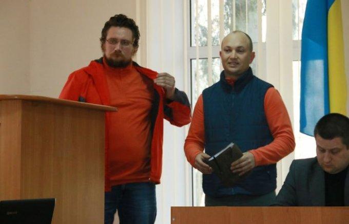 Организаторы мотокросса в Цюрупинске побывали на сессии городского совета