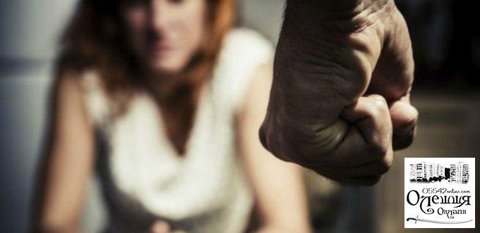 Житель Цюрупинского района жестоко избил сожительницу, приревновав её к другу