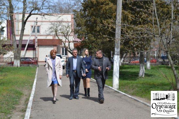 До Цюрупинська завітала постійний Представник Президента України в АРК