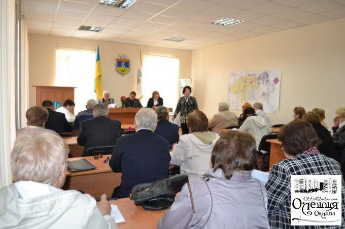 Відбувся пленум цюрупинської міської ветеранської організації