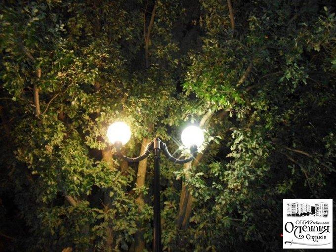 На центральной площади Цюрупинска и в парке возле РГА появится освещение