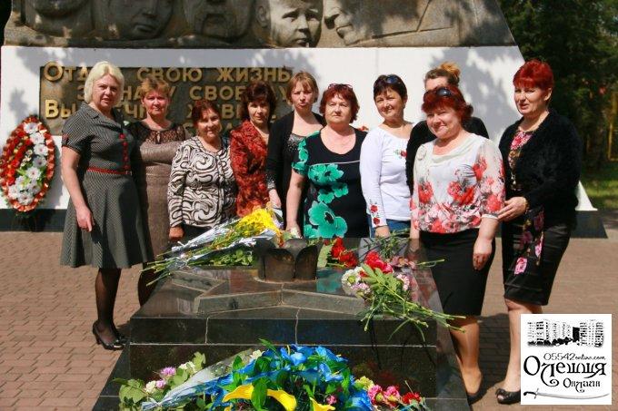 9 мая в Цюрупинске (фото)