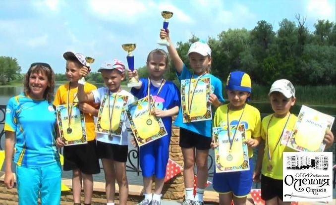 День захисту дітей у Олешках (відео)